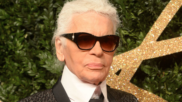 Karl Lagerfeld Created His L'Oréal Paris Makeup Collection Before His Death