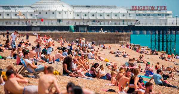 Here's how hot parts of Britain will get on Saturday as 'tongue of fire' hits UK