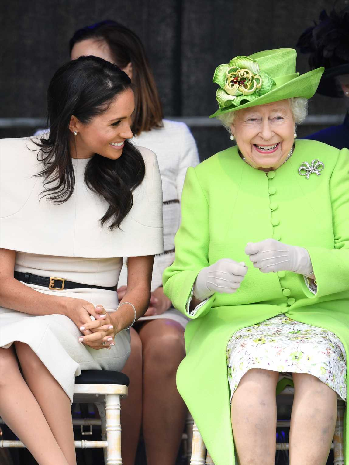 The Queen 'doesn't have close relationship with Kate' but likes Meghan