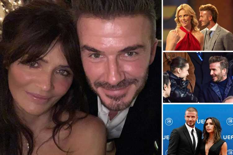 From Hollywood royalty to singing superstars – these are the women that have sparked David Beckham's playing away rumours – The Sun