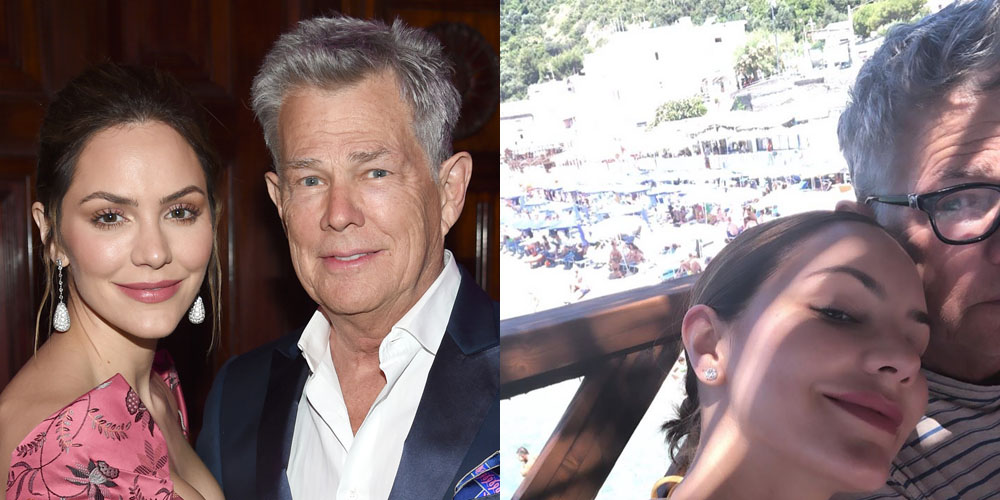 Katharine McPhee Shares Photos From Honeymoon with David Foster!