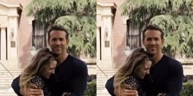 Pregnant Blake Lively and Ryan Reynolds's Boston PDA Is So Adorable