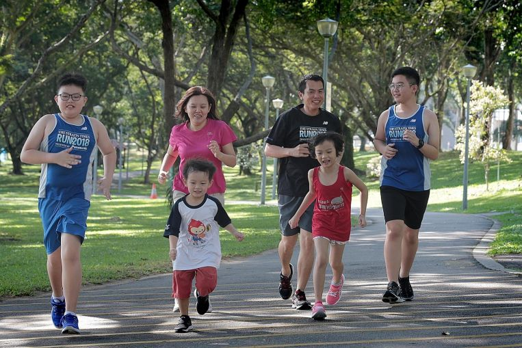ST Run: Running is family time for the Ongs, including for 5-year-old Ashton