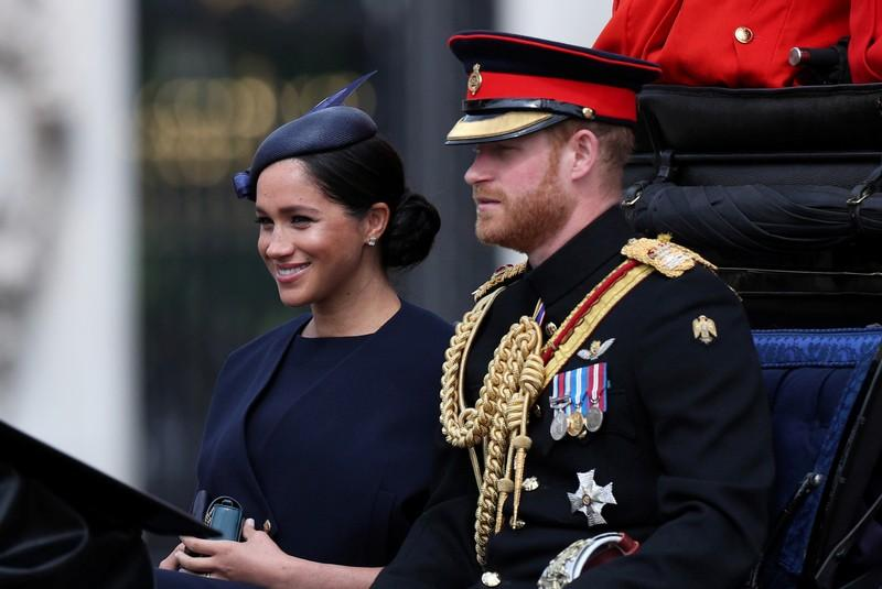 UK's Harry and Meghan head to Africa for first family tour