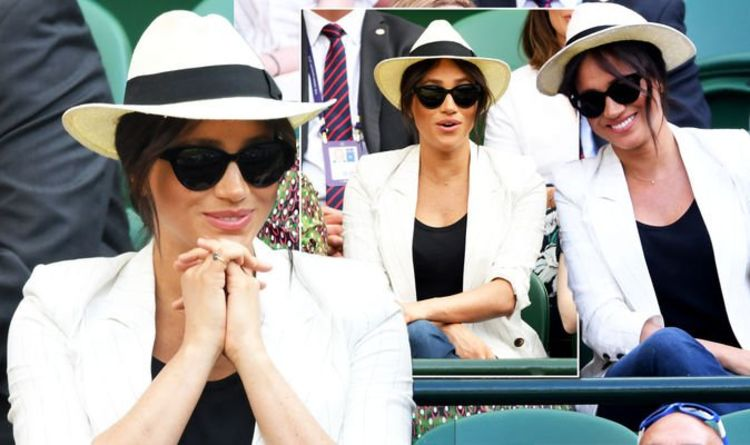Meghan's request for privacy at Wimbledon 'at odds' with 'Hollywood posing' body language