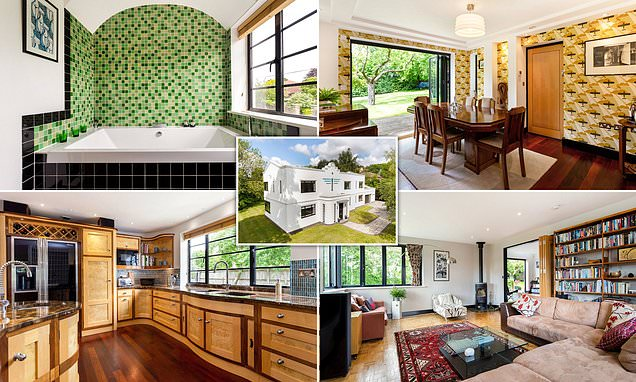 Grand Designs Art Deco house is for sale for £1.6m