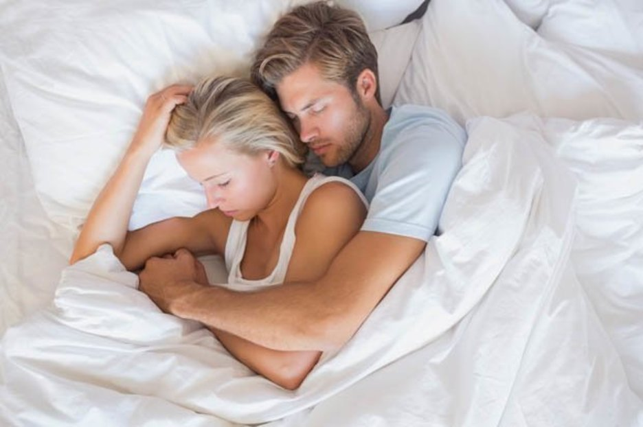 Genius pillow stops arms from going numb while spooning your lover