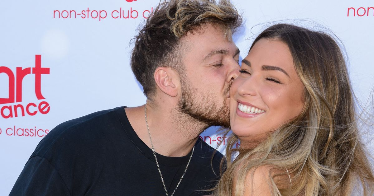 Love Island's Zara McDermott packs on the PDA with new boyfriend Sam Thompson