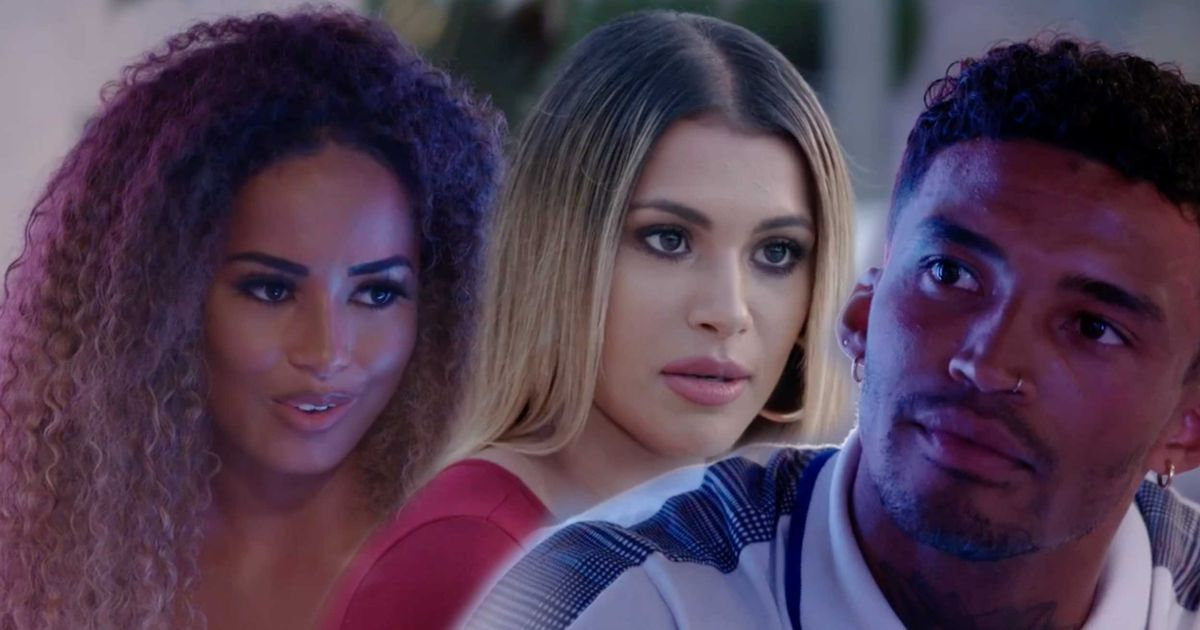 Love Island viewers accuse Michael Griffiths of lying to Amber Gill as they point out what he REALLY said as Joanna Chimonides left villa