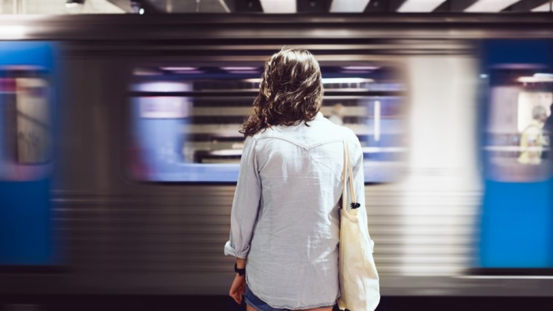 Sure, there are downsides to public transport, but lots is right on track