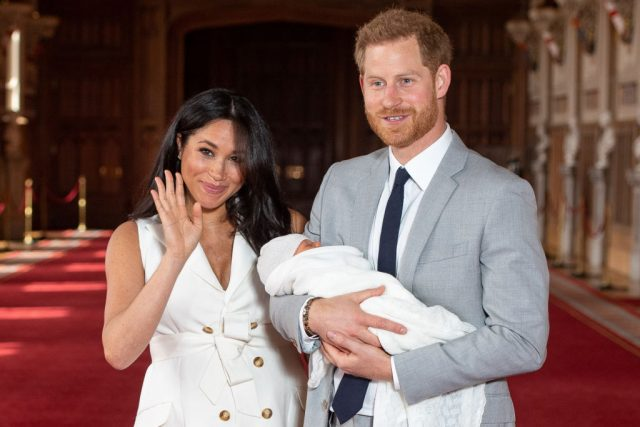 Prince Harry And Meghan Markle Breaking Royal Protocol In More Than One Way With Archie's Christening