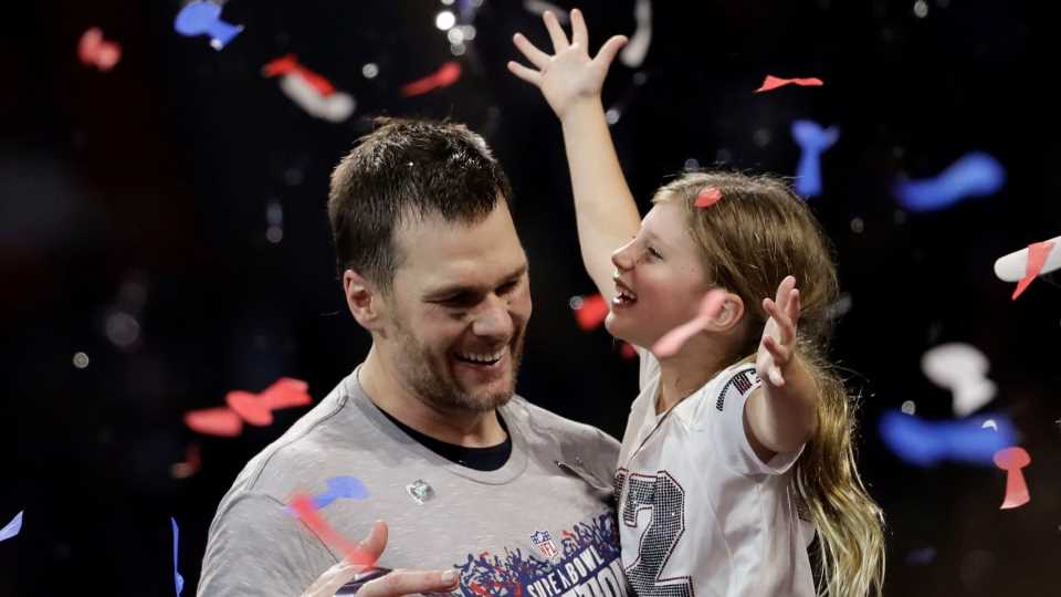 Tom Brady Had the Cutest Workout Partner on His Family Vacation with Gisele Bündchen