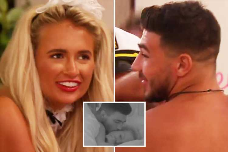 Love Island's Tommy Fury and Molly-Mae will spend their first night in the hideaway tonight