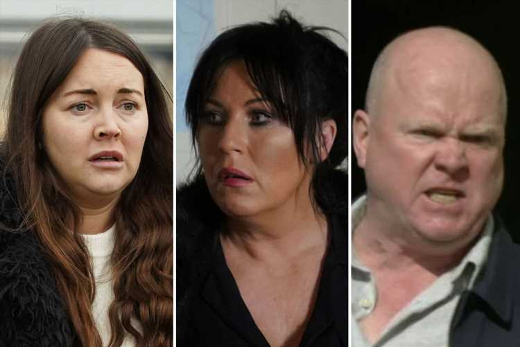 EastEnders fans think Stacey Slater will attack Phil Mitchell to save Kat from being murdered and be forced to go on the run