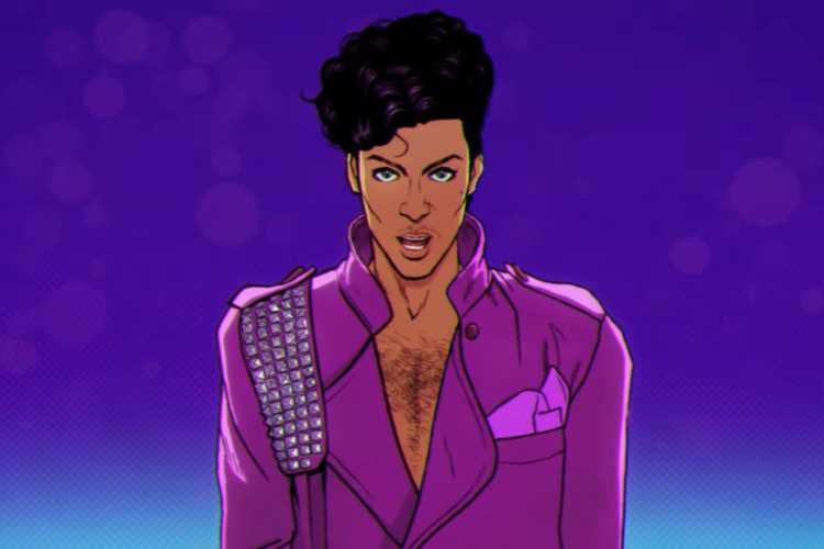 Prince Estate Unveils 'Holly Rock' Animated Video