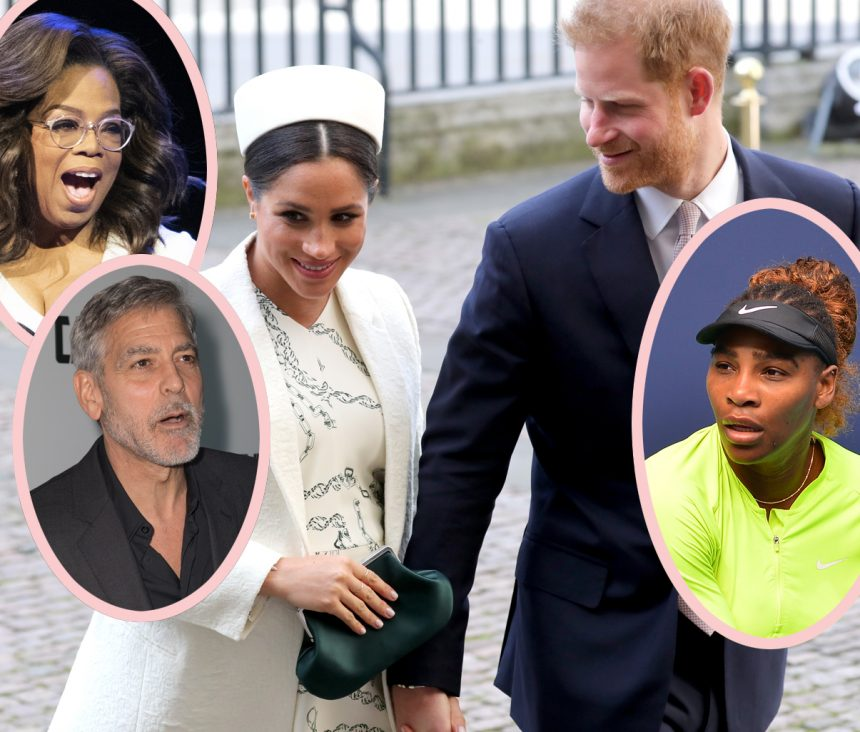 Meghan Markle & Prince Harry Plan 'Intimate' Christening — But WHO Will Be Archie&#8217