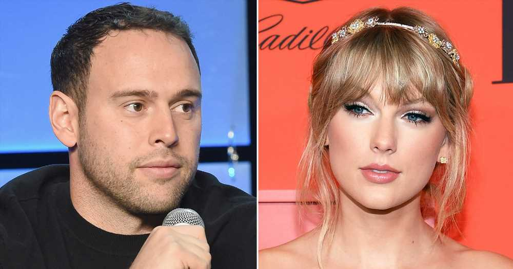 Scooter Braun Reposts Supportive Messages After Taylor Swift Blasts Him