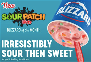 Dairy Queen Just Launched A Blizzard STUFFED With Sour Patch Kids