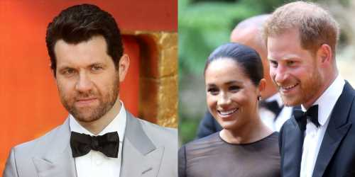 Billy Eichner Reveals What He & Meghan Markle Talked About At 'Lion King' Premiere