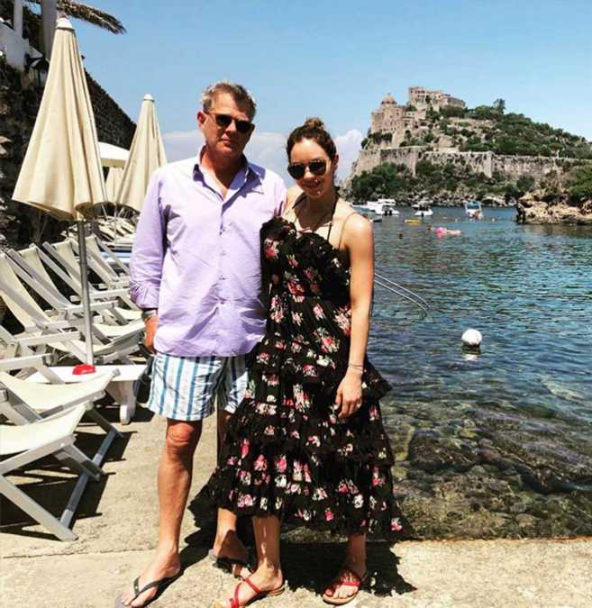 Newlyweds in Naples! Katharine McPhee and David Foster Pose Together During Italian Honeymoon