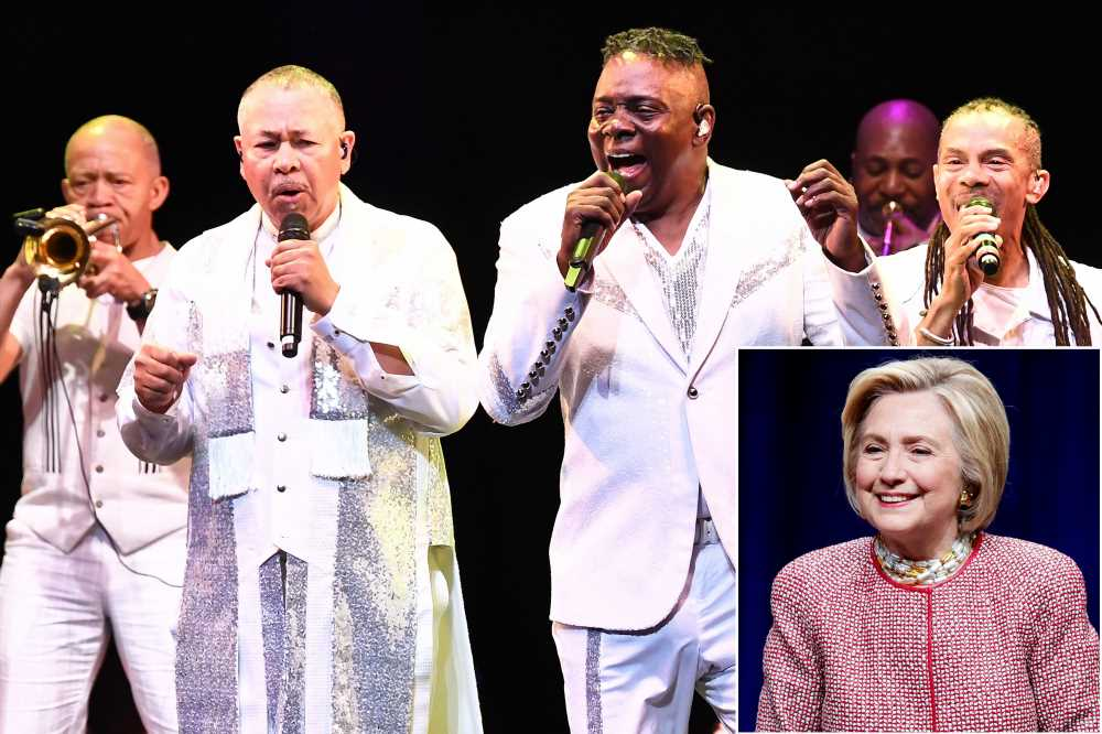 Hillary Clinton rocks out at Earth, Wind & Fire concert after Bill denies Epstein knowledge