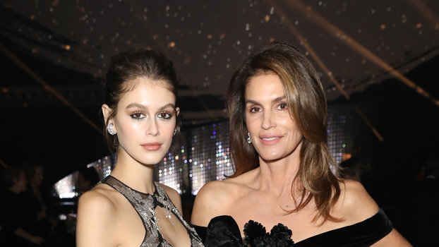 Kaia Gerber Is a Music Video Star Now, Just Like Mom Cindy Crawford