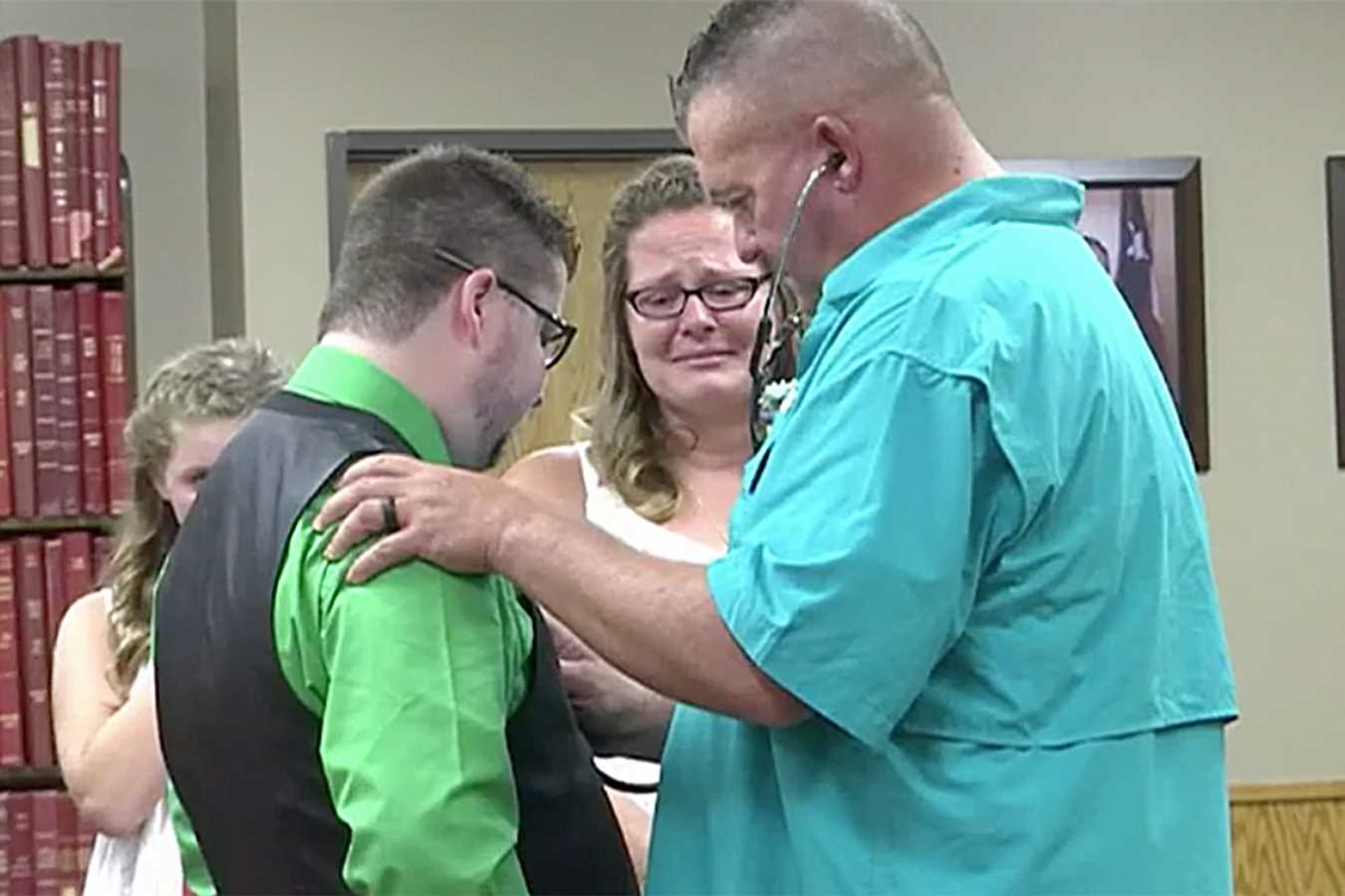 Couple Surprised with Hearing Late Son's Donated Heart Beating at Their Wedding