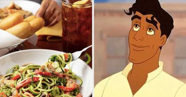 Eat At Olive Garden And We'll Give You A Disney Prince To Have Dinner With