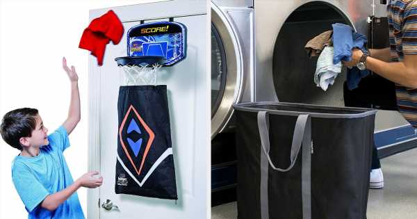 26 Of The Best Hampers And Laundry Bags You Can Get On Amazon