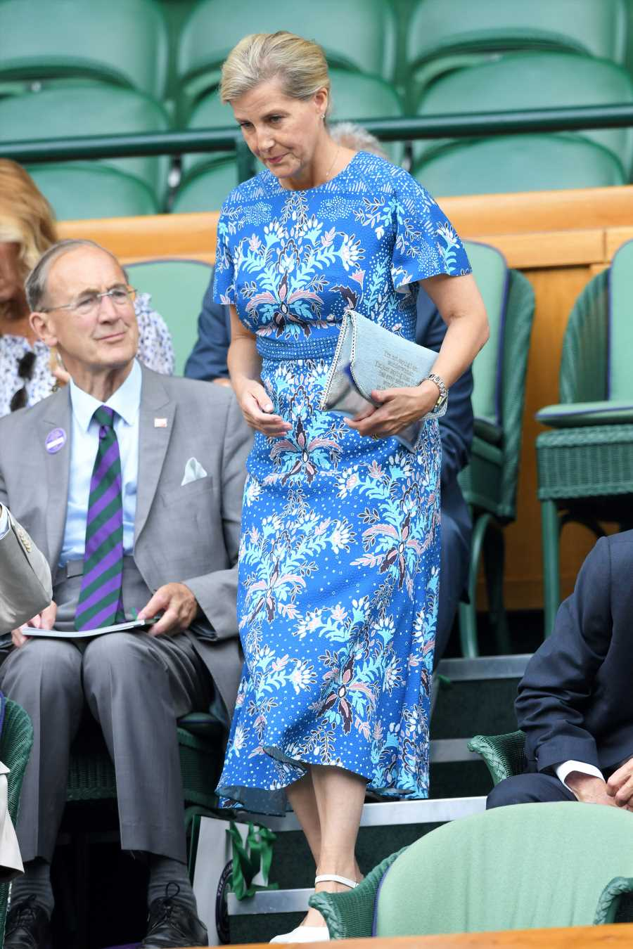 Sophie Countess of Wessex Wore an Unexpected Purse to Wimbledon — with an American Twist!