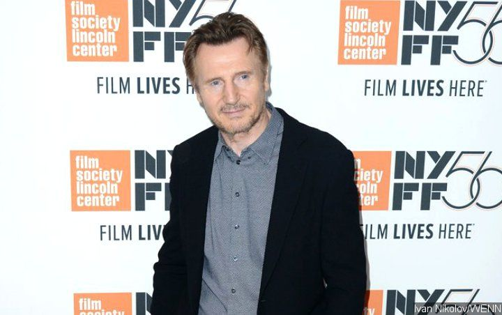 Liam Neeson All Smiles at 'Cold Pursuit' Spanish Premiere Post-Racism Controversy