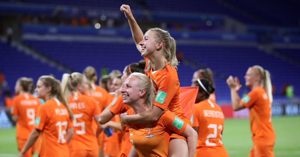 The Netherlands Ponders the Possible: 'We Can Beat Them'