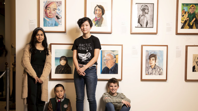 Art down the generations at Young Archies
