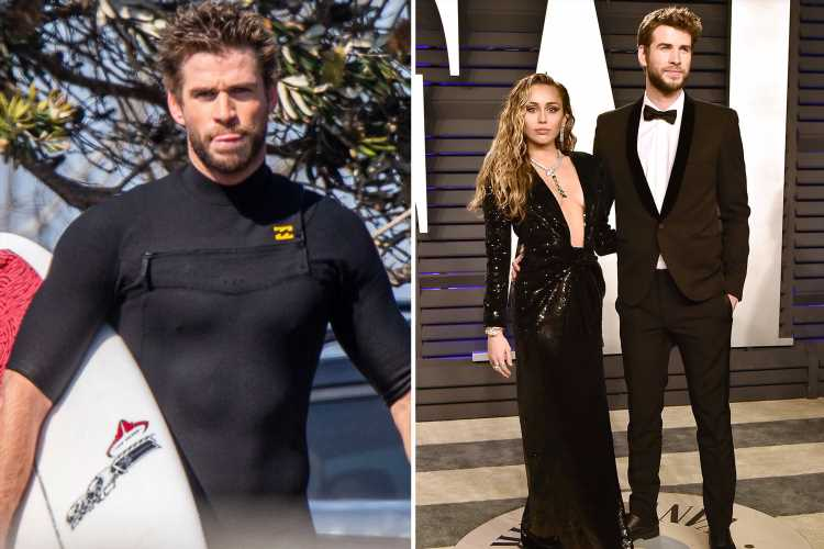 Liam Hemsworth files for divorce from Miley Cyrus after she kissed Kaitlynn Carter