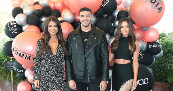 Tommy Fury parties with Love Island pals in Ireland without Molly-Mae