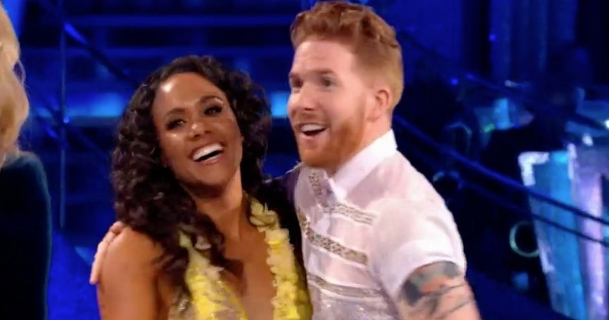 Strictly fans convinced newly-single Neil Jones and Alex Scott will date