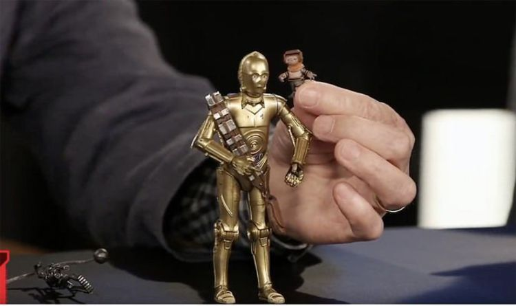 Star Wars Triple Force Friday C-3PO toy CONFIRMS Threepio Rise of Skywalker weapon rumour