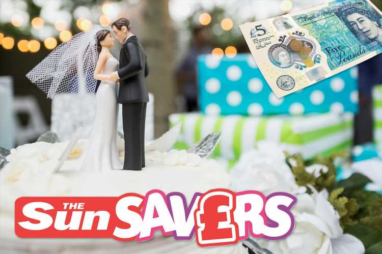 Great but inexpensive wedding gifts to treat the newlyweds without breaking the bank — plus play to win £50k on the Sun Savers Raffle – The Sun