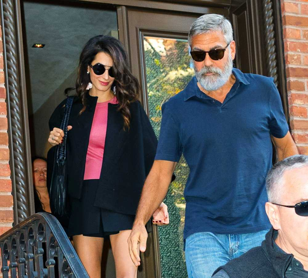 George and Amal Clooney Step Out in New York City on 5th Wedding Anniversary