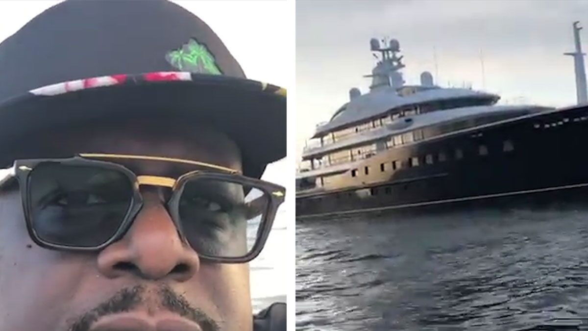 Cedric The Entertainer Awed by Size of Magic Johnson's Yacht