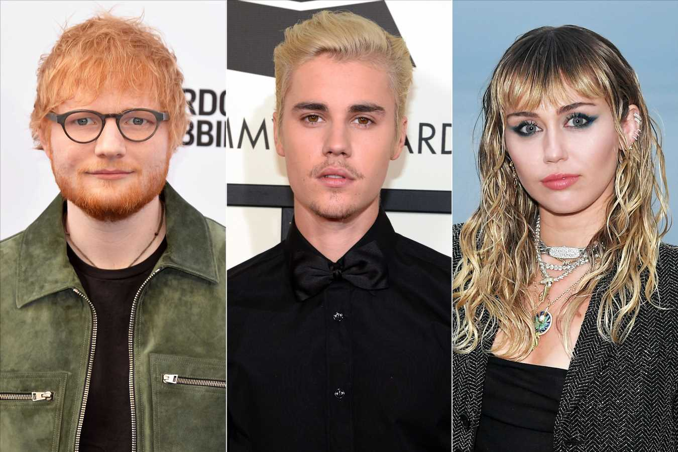 Miley Cyrus, Ed Sheeran, Khloé Kardashian and More Support Justin Bieber After Vulnerable Post
