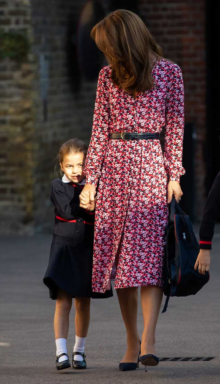 Sweet detail on Princess Charlotte's school backpack you probably missed