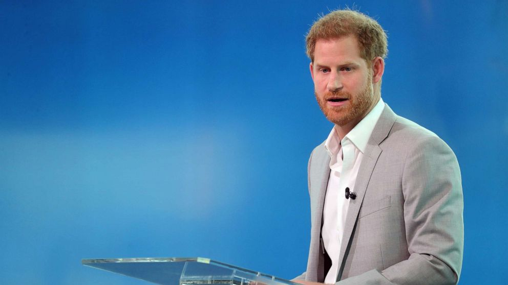 Prince Harry launches travel initiative after controversy over private jet use
