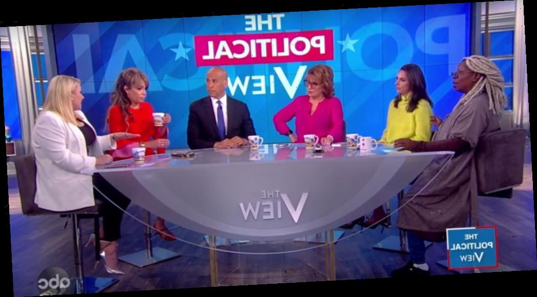 """'The View': Cory Booker Tells Meghan McCain """"We Should Watch The Way We Talk About Each Other"""""""