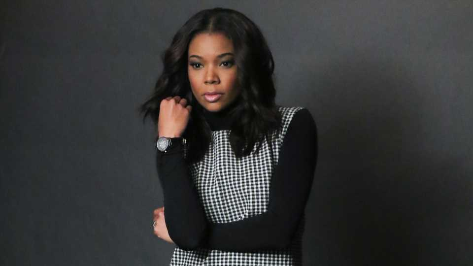 Gabrielle Union Shows a Rare Glimpse of Her Natural Curls