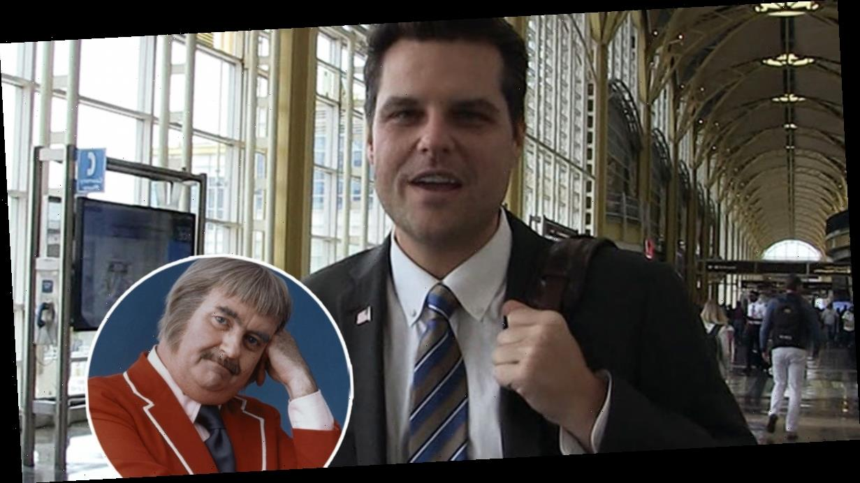 Refutable Proof Matt Gaetz Knows Who Captain Kangaroo Is