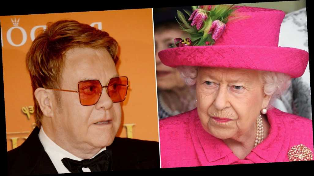 Elton John Claims the Queen Slapped Her Nephew's Face in Front of Him