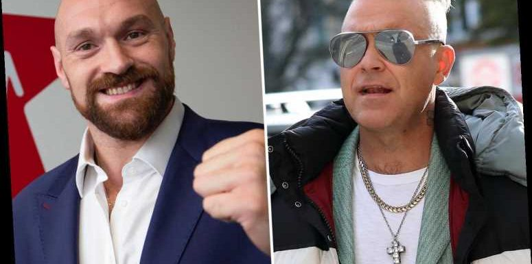Tyson Fury recorded Robbie Williams Christmas single in his living room