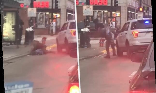A Chicago Cop Was Captured On Video Body Slamming A Man On The Street. A Police Review Group Is Investigating