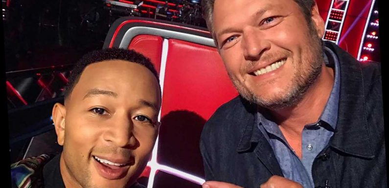 Blake Shelton's Advice to John Legend After Sexiest Man Alive Title: Don't Look at Social Media